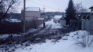 Райони Авдіївки, які зазнали обстрілів