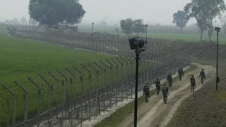 India-Pakistan border