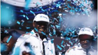 Raila Odinga iyo ku xigeenkiisa Kalonzo Misyoka