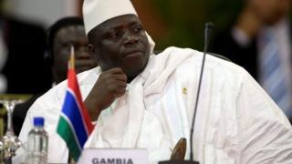 Aliyekuwa rais wa Gambia Yahya Jammeh