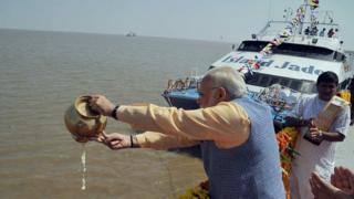 ભારતના વડાપ્રધાન નરેન્દ્ર મોદી
