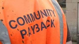 Community payback order