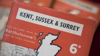 Penguin guide to Kent, Sussex and Surrey