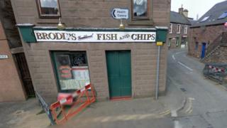 Brodies fish and chip shop