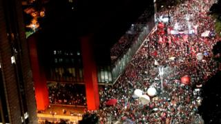 Демонстрация в Бразилии