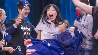 Australia Eurovision finalist Dami Im