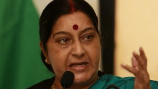 India, Sushma Swaraj
