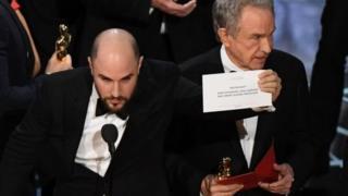 Embaras seremoni'r Oscars