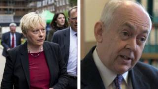 Angela Eagle and Wayne David