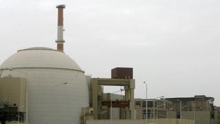 نیروگاه اتمی بوشهر در سواحل خلیج فارس در جنوب ایران