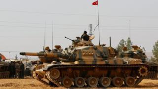 صورة دبابة تركية