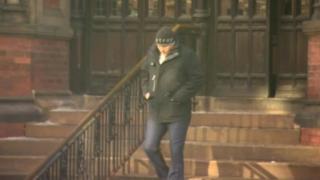 Craig Williams leaves court