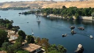 اسوان النيل