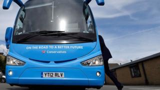 Conservative battle bus