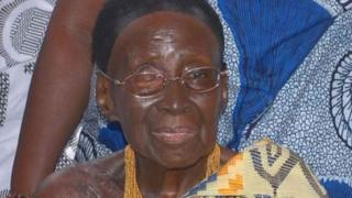Nana Afia Kobi Serwaa Ampem II était reine du royaume ashanti depuis 39 ans.