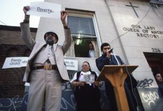 Protests in East Harlem