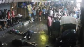 Thai attack scene