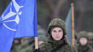 Солдат НАТО в Литве (2 декабря)