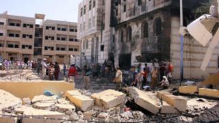تفجير سيارة في عدن يوم 14 نوفمبر