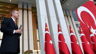 منتقدون يقولون إن أردوغان يستغل عملية التطهير عقب الانقلاب للتخلص من المعارضة