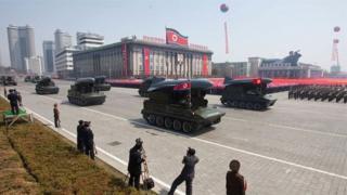 Korea kaskazini na maonesho ya silaha