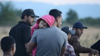 Syrian refugees in Greece (18 August 2015)