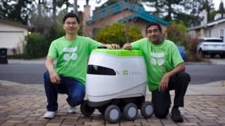Robby co-founders Rui Li and Dheera Venkatraman
