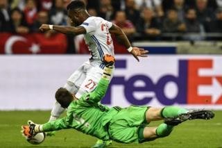 Lyon - Beşiktaş karşılaşması