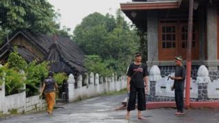 Penghayat Sunda Wiwitan di Kampung Cigugur, Kuningan, Jawa Barat.