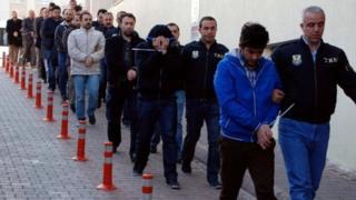 ترکی میں گرفتاریاں