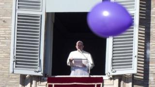 Pope Francis at St Peter's Square