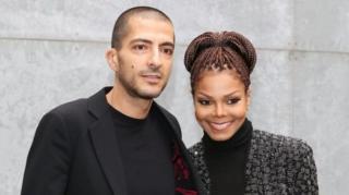 Şarkıcı Janet Jackson ve eşi Wissam Al Mana