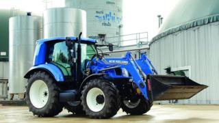 Gaz bilan yuruvchi traktorlar o'tgan yili taqdim qilingan