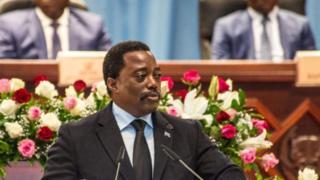 Rais Kabila hakujiuzulu wakati muda wake wa utawala wake ulipokamilika mwaka uliopita hatua iliozua mgzozo wa kisiasa.