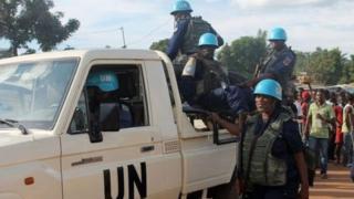Ingabo za ONU muri Centrafrique