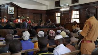 Uganda High Court first day of trial