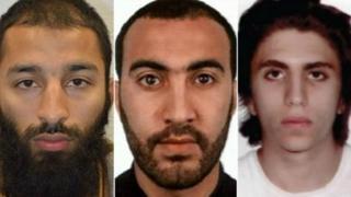 三名伦敦恐袭者之一优素福(右一)