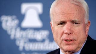 Le sénateur républicain américain John McCain a été diagnostiqué d'un cancer du cerveau.