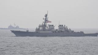 """Эсминец ВМС США """"Фицджеральд"""""""