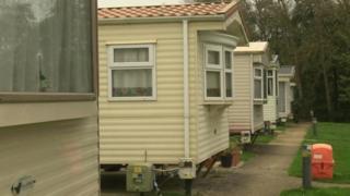 Rookley Country Park caravans