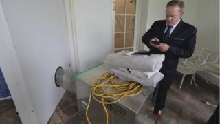 Бывший пресс-секретарь Белого дома Шон Спайсер