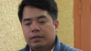 Phan Kim Khánh, sinh năm 1993, bị bắt tại Thái Nguyên