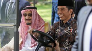 Kral Salman ve Jokowi