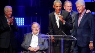 خمس رؤساء أمريكيون