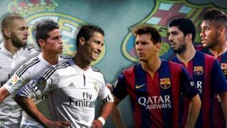 Mechi ya El Classico kati ya Real Madrid dhidi ya Barcelona