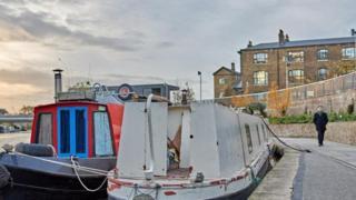運河和窄船