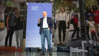 Ford CEO Jim Hackett speaks on stage during City of Tomorrow Symposium presented by Ford Motor Company at Fort Mason Center on August 17, 2017 in San Francisco, California.