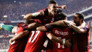 Portugal goal
