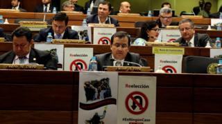 Sesión de la Cámara de Diputados de Paraguay, 26 de abril de 2017