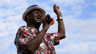 Raila Odinga naho yatangaje ko avuye mu matora, ngo ashobora kuyajamwo impungenge ziwe zumvirijwe
